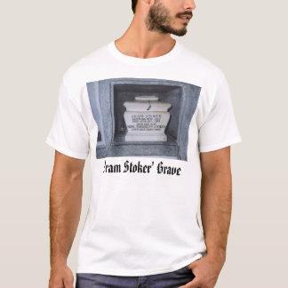 Bram Stoker, Bram Stoker' Grave T-Shirt