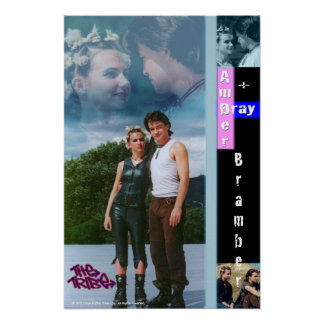 Bramber Poster - Amber and Bray