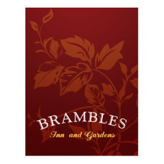 Brambles Logo Postcard