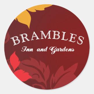 Brambles Logo Classic Round Sticker