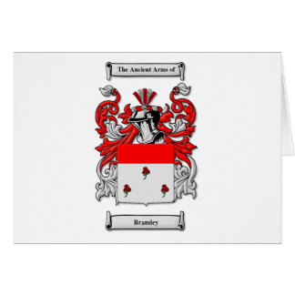 Bramley Coat of Arms Card