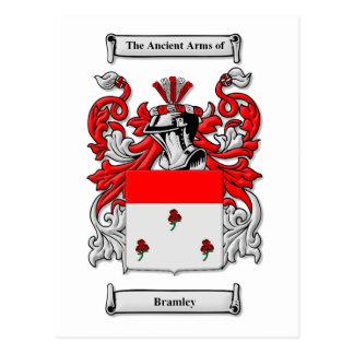 Bramley Coat of Arms Postcard