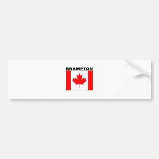 Brampton, Ontario Car Bumper Sticker