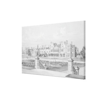 Brampton Park Huntingdonshire 1852 Canvas Print