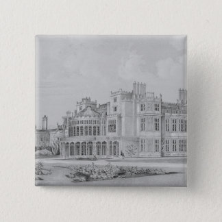 Brampton Park near Huntingdon, 1852 Pinback Button