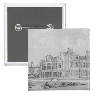 Brampton Park near Huntingdon, 1852 Pinback Button