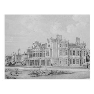Brampton Park near Huntingdon, 1852 Postcard