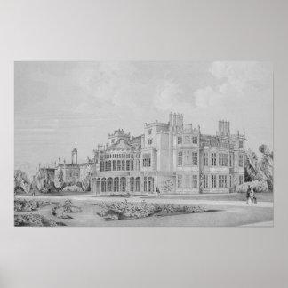 Brampton Park near Huntingdon 1852 Posters