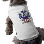Brams Family Crest Dog Tshirt