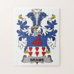 Brams Family Crest Jigsaw Puzzle