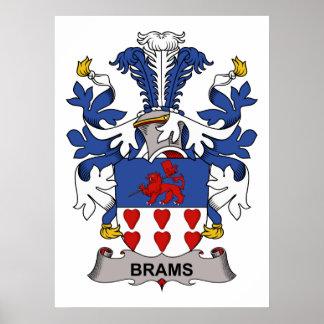 Brams Family Crest Print