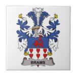 Brams Family Crest Tiles