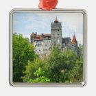 Bran castle, Romania Metal Ornament