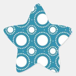 brancas de las boleadoras de COM del padrão Pegatina En Forma De Estrella