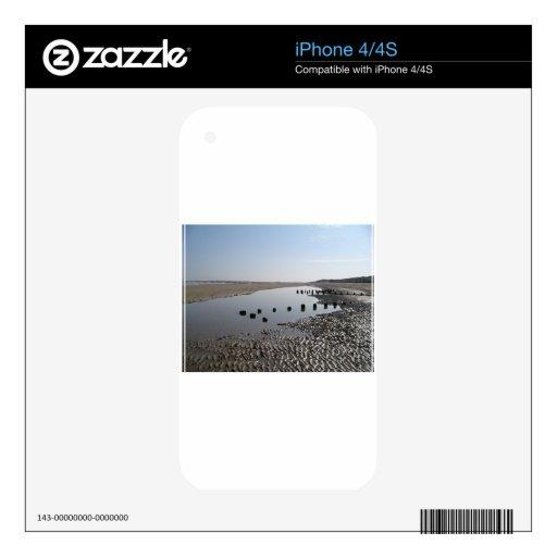 BRANCASTER BEACH-NORFOLK CALCOMANÍAS PARA iPhone 4S