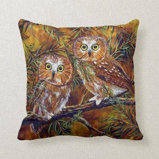 Branch Buddies Throw Pillow