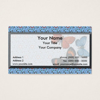 Branch Butterflies Sm Any Color Business Card