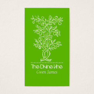 Branch Fruit Tree Landscaper Or Gardener Business Business Card