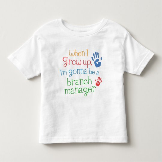 Branch Manager (Future) Infant Baby T-Shirt