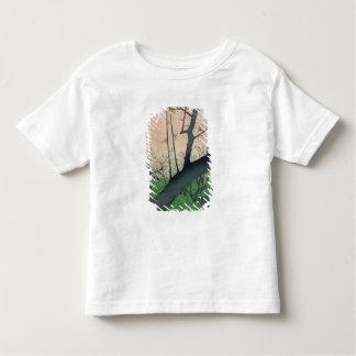 Branch of a Flowering Plum Tree Toddler T-shirt