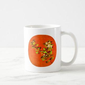 Branch of Flowering White Jasmine 12th Century Coffee Mugs