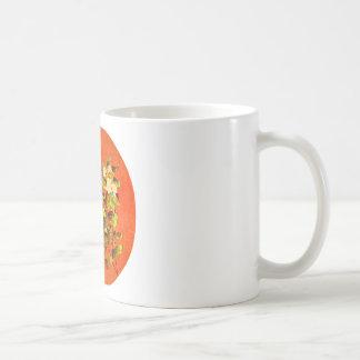 Branch of Flowering White Jasmine 12th Century Mug