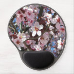Branch of Pink Blossoms Spring Flowering Tree Gel Mouse Pad