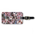 Branch of Pink Blossoms Spring Flowering Tree Luggage Tag