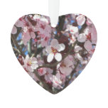 Branch of Pink Blossoms Spring Flowering Tree Ornament