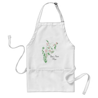 Branch of Pink Cherry Blossom Apron