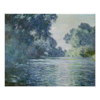 Branch of the Seine near Giverny, 1897 Poster