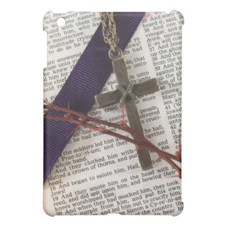 Branch of Thorns and Cross iPad Mini Case