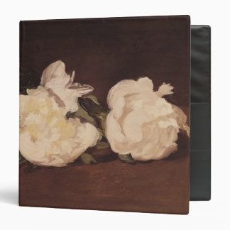Branch of White Peonies and Secateurs, 1864 3 Ring Binder