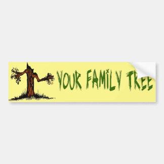 Branch Out Car Bumper Sticker