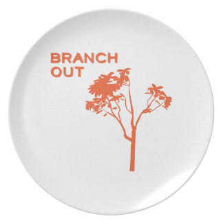 Branch Out Party Plate