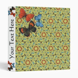 Branch Spiral Butterflies Sm Any Color Binder
