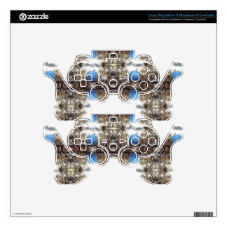 Branch Tapestry Pattern Decal For PS3 Controller