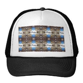 Branch Tapestry Pattern Trucker Hat