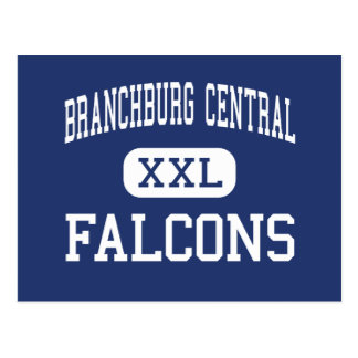Branchburg Central Falcons Middle Somerville Post Card