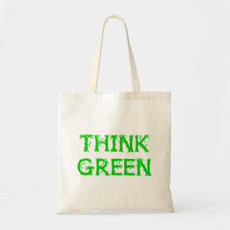 """Branched """"Think Green"""" Bag"""