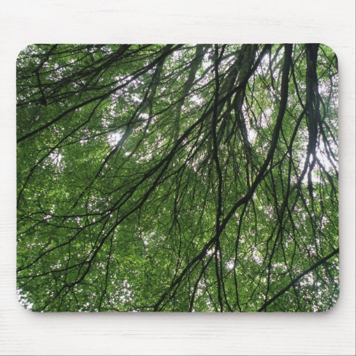 Branches and Leaves Mousepad