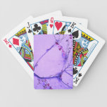 Branches and Leaves Winter Motif Bicycle Card Decks