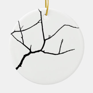Branches by Leslie Peppers Ceramic Ornament