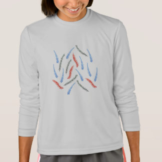 Branches Girls' Sports Long Sleeve T-Shirt