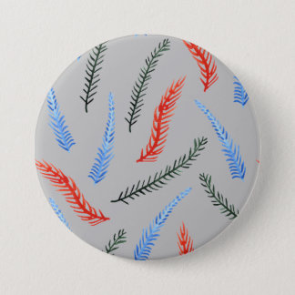Branches Large Round Button