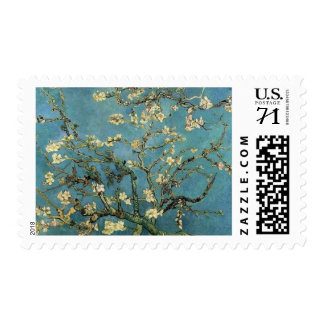 Branches of an almond tree Vincent Van Gogh Postage