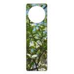 Branches of Dogwood Blossoms Spring Trees Door Hanger