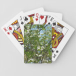 Branches of Dogwood Blossoms Spring Trees Playing Cards