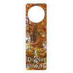 Branches of Orange Leaves Autumn Nature Door Hanger