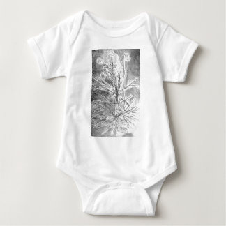 Branches of the fallen life baby bodysuit